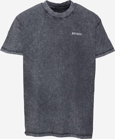 Night Addict T-Krekls 'BROKEN', krāsa - raibi melns / balts, Preces skats