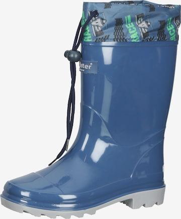 Bottes en caoutchouc RICHTER en bleu