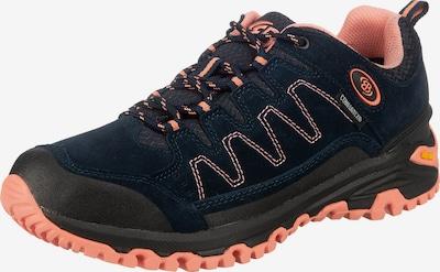 Brütting Wanderschuh 'Mount Nansen' in dunkelblau / koralle / schwarz, Produktansicht