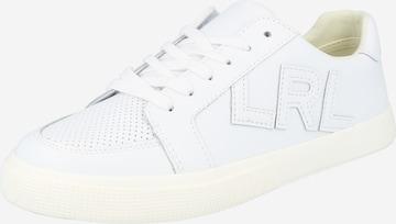 Lauren Ralph Lauren Sneakers 'JAEDE' in White