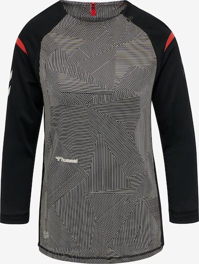 Hummel Funktionsshirt 'PRO XK GAME' in graphit / hellrot / schwarz / weiß, Produktansicht
