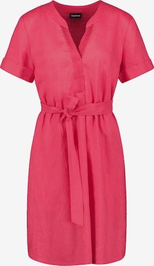 TAIFUN Leinenkleid in rot, Produktansicht