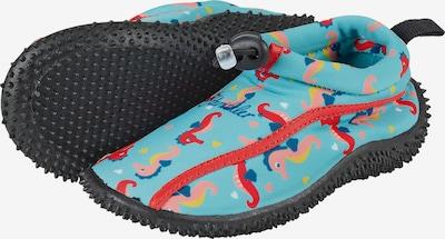 STERNTALER Aqua-Schuh in navy / hellblau / goldgelb / koralle / rot, Produktansicht