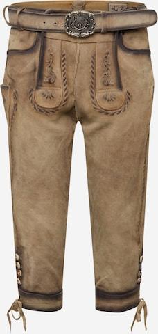 STOCKERPOINT Tradisjonelle bukser 'Johann' i brun