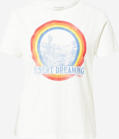 Tricou WRANGLER pe mai multe culori / alb, Vizualizare produs
