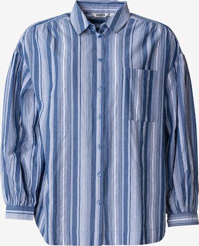 Indiska Bluse 'KIKKI' in blau / weiß, Produktansicht
