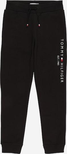 Pantaloni TOMMY HILFIGER di colore rosso chiaro / nero / bianco, Visualizzazione prodotti