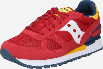 Sneaker low 'Shadow Original' saucony pe bleumarin / galben / roșu vin / alb, Vizualizare produs