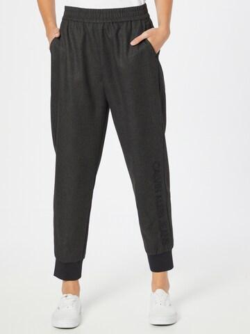 Calvin Klein Jeans Hose in Grau