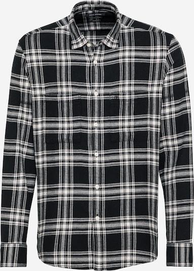 Marc O'Polo Chemise en noir / blanc, Vue avec produit