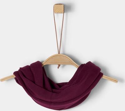 s.Oliver Loop-Schal aus Feinstrick in bordeaux, Produktansicht