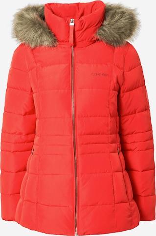 Calvin Klein Talvejope 'SORONA', värv punane