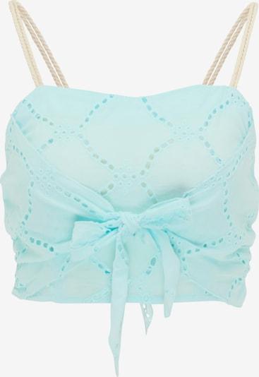 MYMO Top | azur barva, Prikaz izdelka