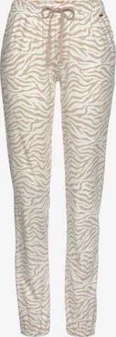 LASCANA Pyžamové nohavice - biela
