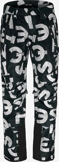 CHIEMSEE Sporthose 'TAOS' in dunkelgrün / weiß, Produktansicht