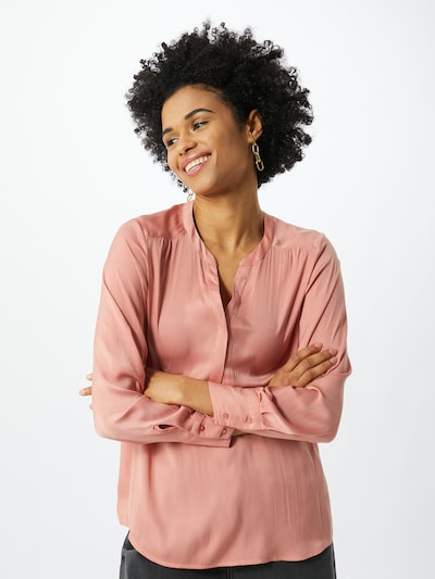 Soyaconcept Bluse 'PAMELA' in rosa, Modelansicht