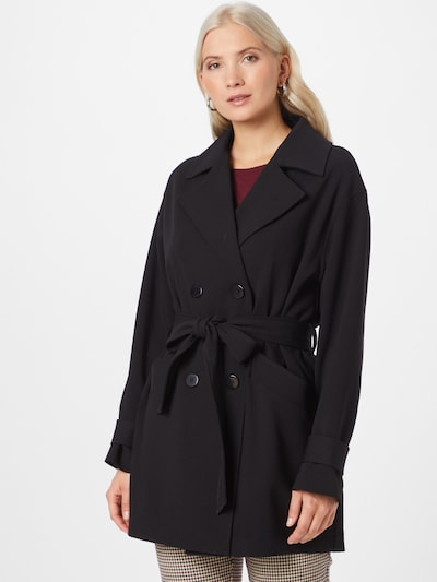 Guido Maria Kretschmer Collection Manteau mi-saison 'Kelsey' en noir, Vue avec modèle