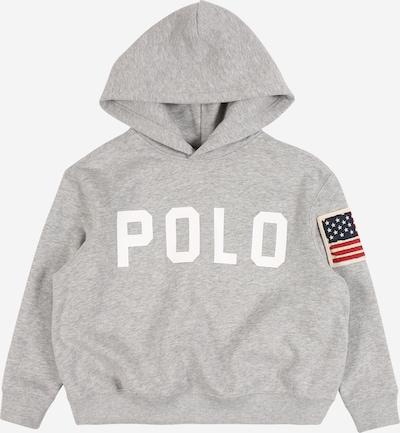 POLO RALPH LAUREN Sweatshirt in de kleur Grijs gemêleerd / Wit, Productweergave