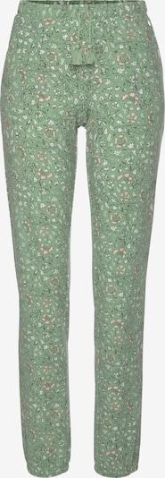 LASCANA Pyjamabroek in de kleur Groen / Rood, Productweergave