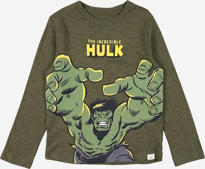 Marškinėliai iš GAP , spalva - rusvai žalia / mišrios spalvos, Prekių apžvalga
