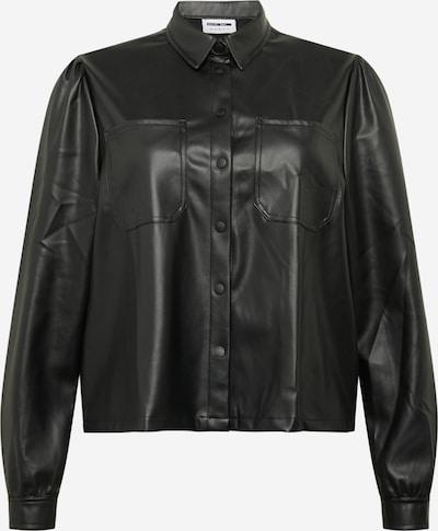 Noisy May Curve Bluse in schwarz, Produktansicht
