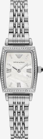 ARMANI Analog Watch 'Gianni' in Silver