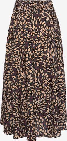 LASCANA Skirt in Beige