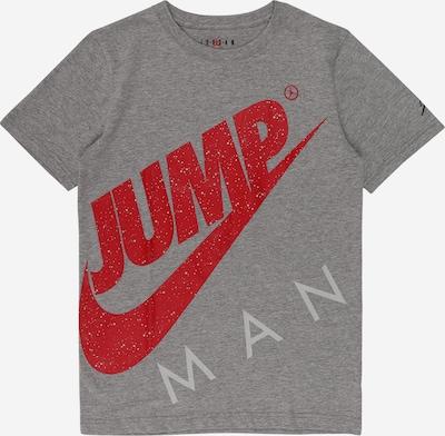 Tricou 'JUMPMAN' Jordan pe gri închis / roșu, Vizualizare produs