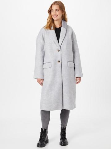 VILA Mantel in Grau