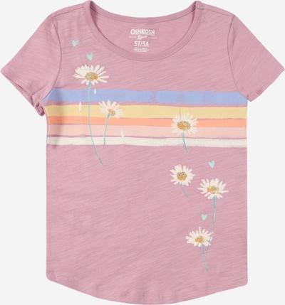 OshKosh Shirt in gelb / orange / rosa / rosé / weiß, Produktansicht
