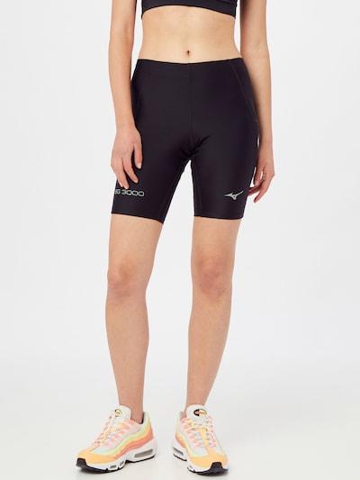 MIZUNO Pantalon de sport en noir, Vue avec modèle