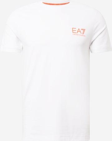 EA7 Emporio Armani Тениска в бяло