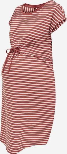 Rochie 'MAY' Only Maternity pe roșu pastel / alb, Vizualizare produs