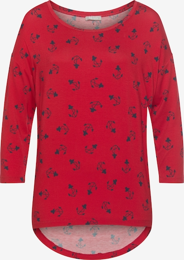 TAMARIS Shirt in Dark blue / Red, Item view