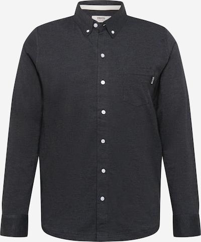 Wemoto Hemd 'SHAW MEL' in schwarzmeliert, Produktansicht