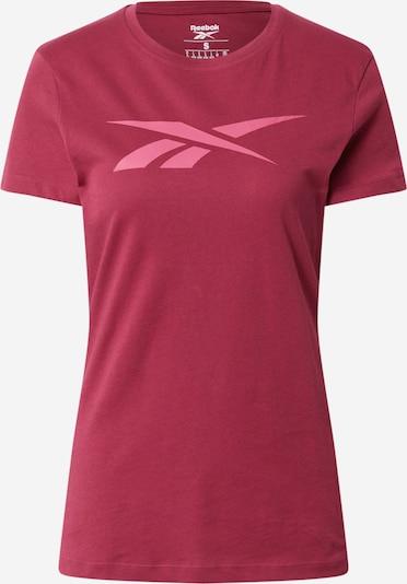Reebok Sport Funktsionaalne särk roosa / bordoo, Tootevaade
