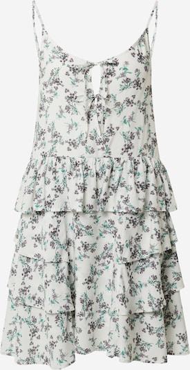 Vasarinė suknelė iš REPLAY , spalva - žalia / tamsiai violetinė / balta, Prekių apžvalga
