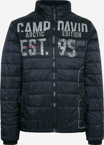 CAMP DAVID Vinterjakke i blå