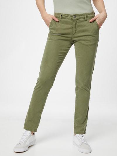 MORE & MORE Pantalon en olive, Vue avec modèle