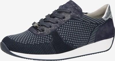 ARA Sneaker in blau: Frontalansicht