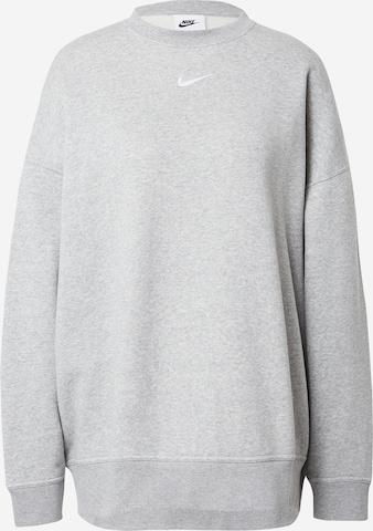 Nike SportswearSweater majica - siva boja