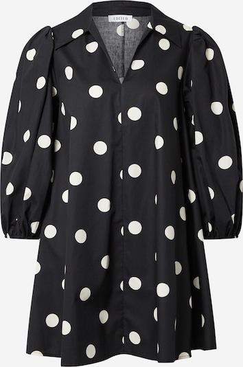 Rochie tip bluză 'Thanya' EDITED pe negru / alb, Vizualizare produs