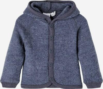 NAME IT Cardigan en bleu-gris / bleu violet, Vue avec produit