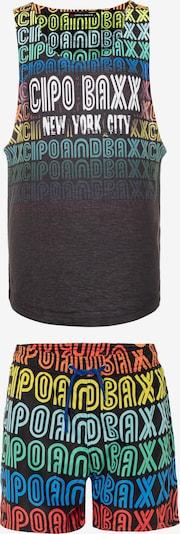CIPO & BAXX Sommer-Set in mischfarben / schwarz, Produktansicht