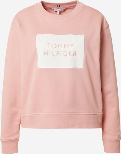 TOMMY HILFIGER Sweatshirt i gammalrosa / vit, Produktvy
