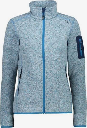 CMP Jacke 'Fleecejacke' in blau / grau, Produktansicht