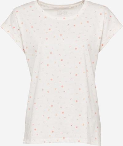 ESPRIT T-Shirt in orange / pink / rot / offwhite, Produktansicht
