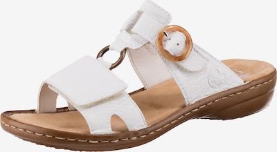 RIEKER Pantolette in weiß, Produktansicht