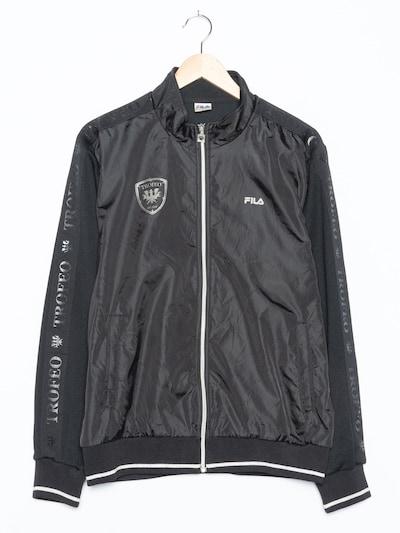 FILA Sportjacke in XL in schwarzmeliert, Produktansicht