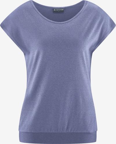 HempAge T-Shirt ' Yoga Shirt ' in flieder, Produktansicht